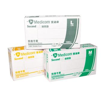 PVC手套,无粉,小号(100只/盒,10盒/箱)