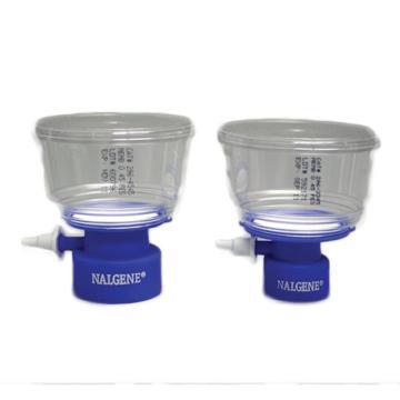 NALGENE瓶顶过滤器,500ml容量,MF75TM系列,聚苯乙烯外壳,75mmPES滤膜,孔径0.45um,适合瓶颈尺寸45mm