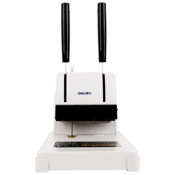 得力 財務憑證裝訂機,會計專用手動打孔機 (可裝訂30mm)3888單位:盒