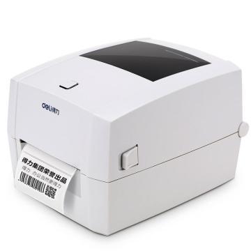 得力 (deli)不干膠/小票/標簽/條碼電子面單打印機,熱敏打印機 DL-888T單位:臺