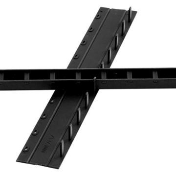 得力 10孔裝訂夾條(黑),300*17.5mm(100支/盒)3830 單位:盒(售完為止)