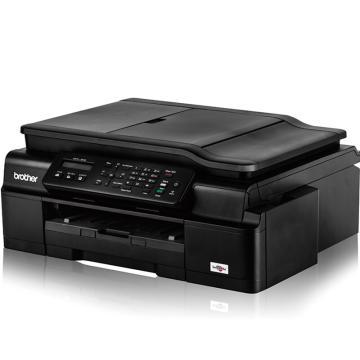 兄弟 商用彩色喷墨多功能一体机,A4打印复印扫描传真无线WIFI打印 MFC-J200 单位:台