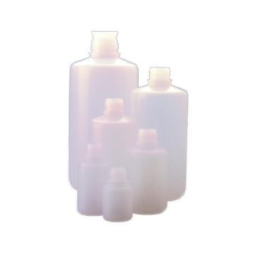 窄口包装瓶,30 ml,天然HDPE,无盖