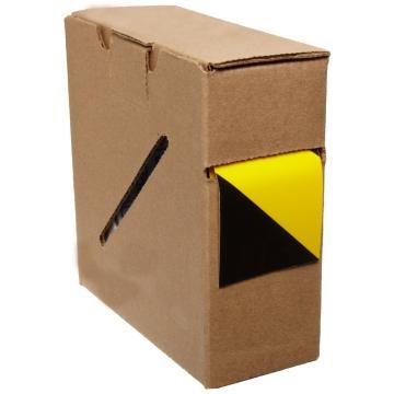 Blive 警示划线胶带,50mm×22m,黄/黑,BL-GL-50-YK