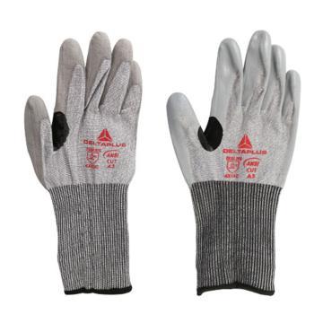 代尔塔DELTAPLUS 202010-8 4级丁腈涂层防割手套,VENICUT41