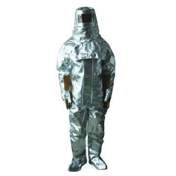 美康 消防隔热服,MKF-0202-L,消防隔热服连体可背呼吸器式