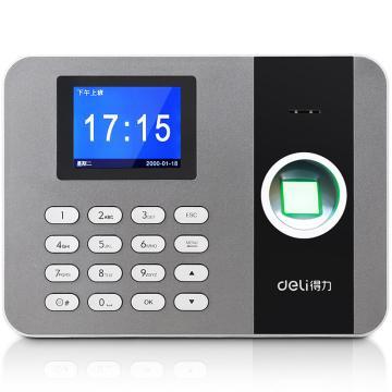 得力(deli) TCP/IP指纹考勤机,局域网指纹指纹打卡机 3747 单位:台