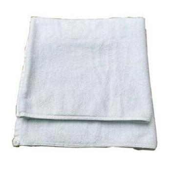 白色纯棉旧浴巾,工业全棉抹布 40*60cm,10kg/捆,单位:捆