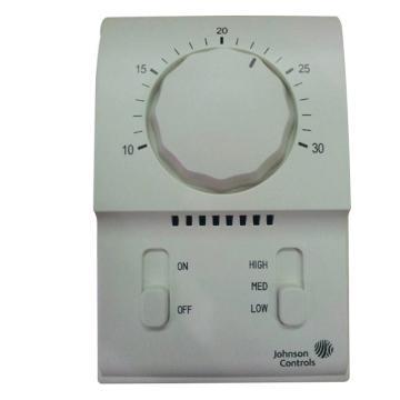 江森 风机盘管机械式温控器,T2000EAC-0C0,单冷,二管制
