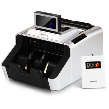 得力(deli)3919银行专用高配版点钞机 新版人民币验钞机 智能语音USB升级(银)(台)