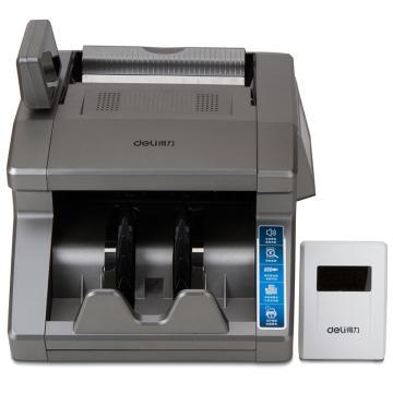 得力(deli) B类语音验钞机, 新版人民币点钞机 双屏显示(灰)(台)3916 单位:台