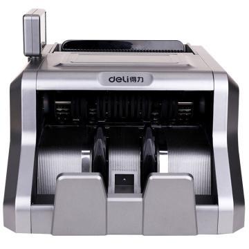得力 点钞机,(灰)(1台每盒) 3906A 单位:盒