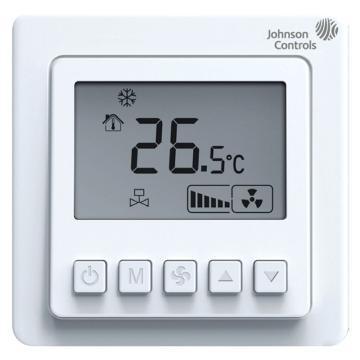 江森 风机盘管液晶温控器,T5200-TF-9JS0,冷暖型, 四管制