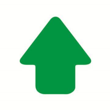 5S管理地贴(箭头)-超强耐磨地贴材料,绿色,76×70mm,10个/包,15796