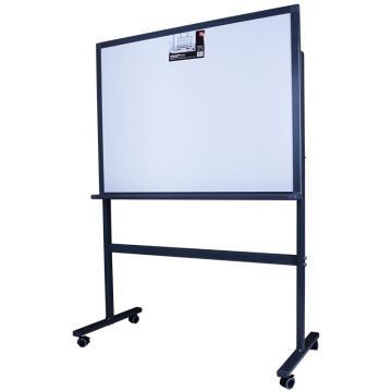 得力 H型架磁性玻璃白板,900*1200mm(灰色) 8738_H型 单位:块