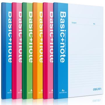 得力 无线本笔记本,颜色随机 80页 A4 7659(本)