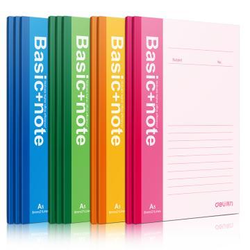 得力 无线本笔记本,颜色随机 60页 A5 7653(本)