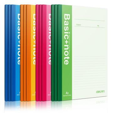 得力 无线本笔记本,颜色随机 50页 A5 7652(本)