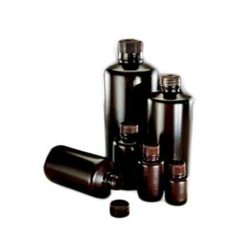 棕色窄口包装瓶,125 ml,HDPE