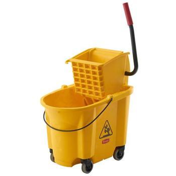 特耐適(Trust)側壓式拖把壓水桶組合,5226 黃色