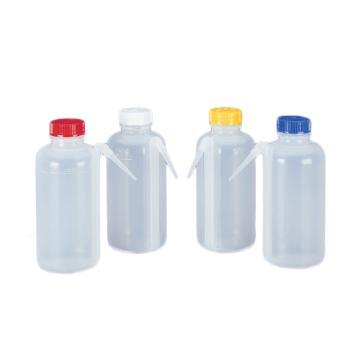NALGENE颜色标记的UnitaryTM 分类洗瓶,低密度聚乙烯瓶体;聚丙烯螺旋盖