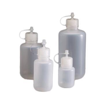 NALGENE滴式分配瓶,低密度聚乙烯,聚丙烯点滴盖和盖,容量125ml