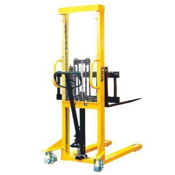 手动堆垛车(可调节货叉),额定载荷(t):1,起升高度(mm):1600