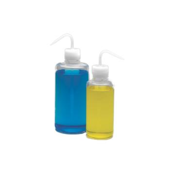 NALGENE洗瓶,Teflon*FEP瓶体;Tefzel*ETFE螺旋盖/杆和吸管,125ml容量