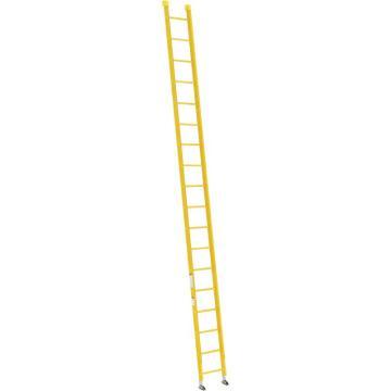 稳耐 全绝缘玻璃钢直梯,梯级数:18,额定载荷(KG):136,梯长(米):5.5,9518-1