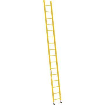 稳耐 全绝缘玻璃钢直梯,梯级数:16,额定载荷(KG):136,梯长(米):4.9,9516-1