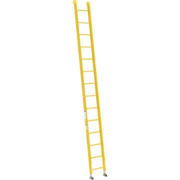 稳耐 全绝缘玻璃钢直梯,梯级数:14,额定载荷(KG):136,梯长(米):4.3,9514-1