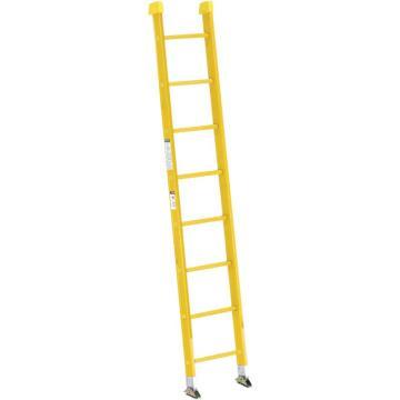 稳耐 全绝缘玻璃钢直梯,梯级数:8,额定载荷(KG):136,梯长(米):2.4,9508-1