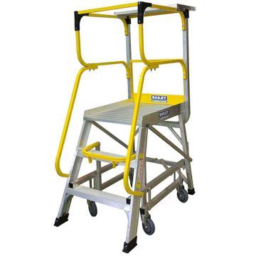 稳耐 大力神系列平台梯,梯级数:4,额定载荷(KG):170,平台高度(MM):1104,FS13592