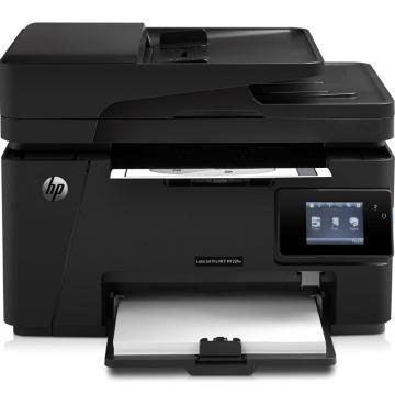 惠普(HP)LaserJet Pro MFP M128fw黑白激光多功能一体机 无线打印复印扫描传真