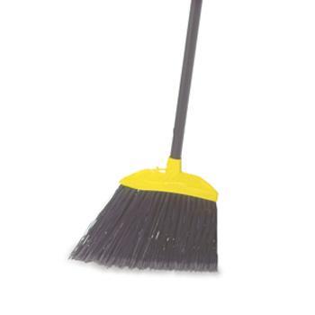 乐柏美Rubbermaid大厅扫帚,黑色637400,聚丙烯帚毛