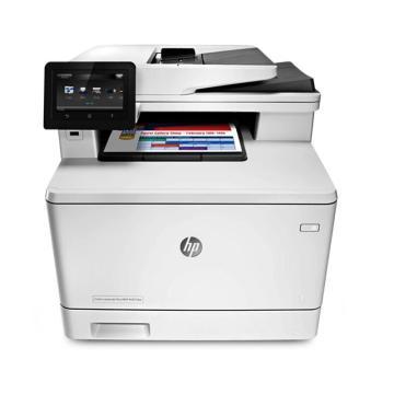惠普(HP)彩色激光多功能一体机,A4(打印复印扫描 )双面+有线无线 M377DW单位:台