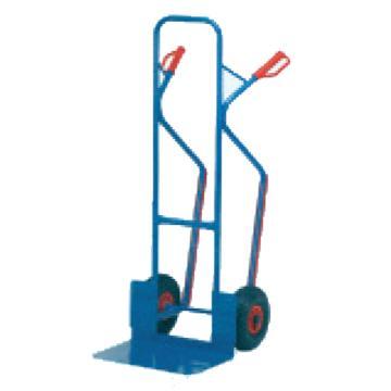 加强型钢制手推车,含实心橡胶轮 300Kg
