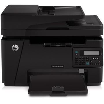 惠普(HP) 黑白激光多功能一體機,A4(打印 復印 掃描 傳真) LaserJet Pro MFP M128fn 單位:臺