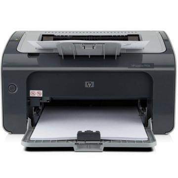 惠普(HP) 黑白激光打印機,A4打印 USB打印 小型商用打印 LaserJet Pro P1106 單位:個