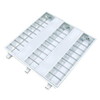 津达 T8 LED格栅灯盘 JD38含3x8W双端进电T8 LED白光 应急8瓦 T型龙骨598x598mm,2个每箱 单位箱