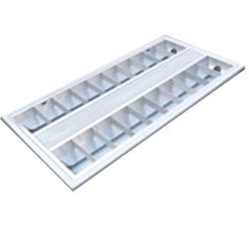 津达 T8 LED格栅灯盘 JD28含2*8W 双端进电T8 LED管 白光 T型龙骨 298*598*55mm,2个每箱 单位箱