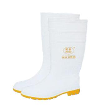丽泰 耐酸碱耐腐蚀耐油食品靴,防水防滑,38,LT-101H
