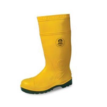 羿科 防化靴,60700104-45,KV20Y 帶鋼頭帶鋼底