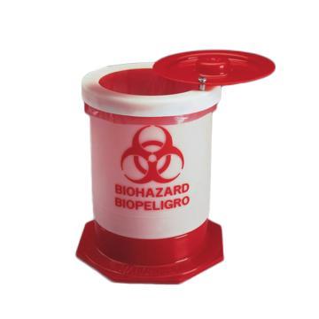 生物危险废品容器,聚丙烯,5.5L,1.5加仑容量