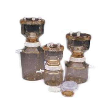 带有接收器的过滤器架,聚砜,上室500ml容量,接收器1000ml容量