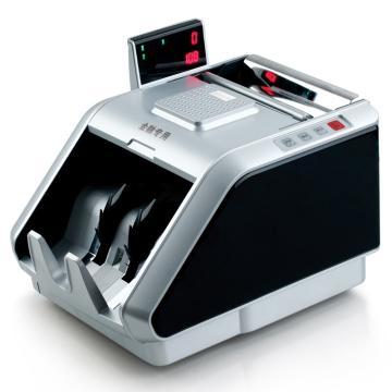 齐心 超级抓假王点钞机, 验钞机 单屏5磁头10红外 黑银 JBYD-6188(B) 单位:台
