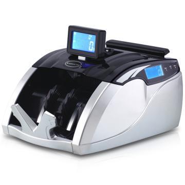 齐心 财旺全智能语音型点钞机, 验钞机 3磁头2对红外 黑银 JBYD-3600(C) 单位:台