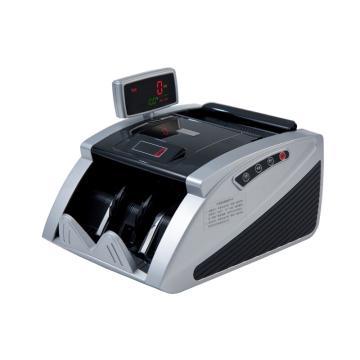齐心 智能红外点钞机, 验钞机 双屏 3对磁头2对红外 黑银 JBYD-2166(C) 单位:台
