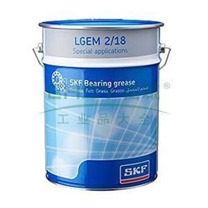 斯凯孚SKF 轴承润滑剂,LGEM 2/18,18kg/桶