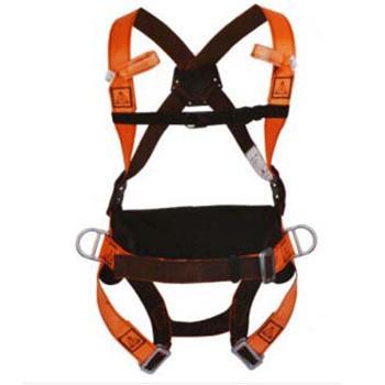 代尔塔 HAR14全身式两挂点带护腰安全带,501014